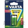 Akumulator VARTA 9V/6F22 NiMh 200mAh Ready2Use
